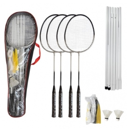 Kit Badminton Hyper (4 Raquetes)
