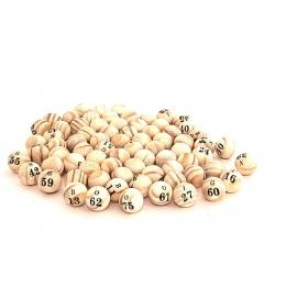 Bolinha de Bingo Pequena (75 Bolinhas)