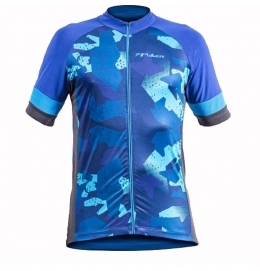 Camisa Ciclista Total Defend Poker