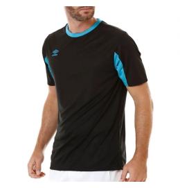 Uniforme de Futebol Umbro (Preto/Azul) 18 Camisas